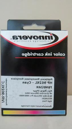INNOVERA T6M02AN HP 902XL CYAN INK CARTRIDGE IVR-902XLC