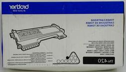 Brother TN420 Toner Cartridge - Retail Packaging - Black, 5-