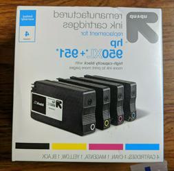 Up & Up Remanufactured Ink Cartrdiges 4-Pack for HP 950XL+95
