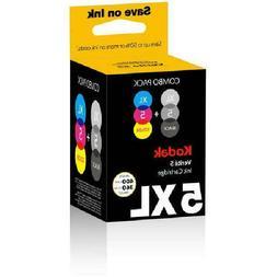 Kodak Verite 5 XL Fast Drying Combo Extra Large Ink Cartridg