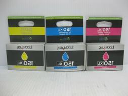 Lexmark High Yield 150XL CMY Tri-pack